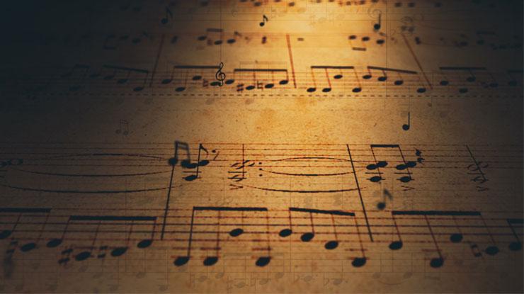 古い 楽譜