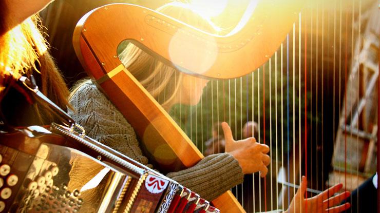 難しい楽器 ハープ