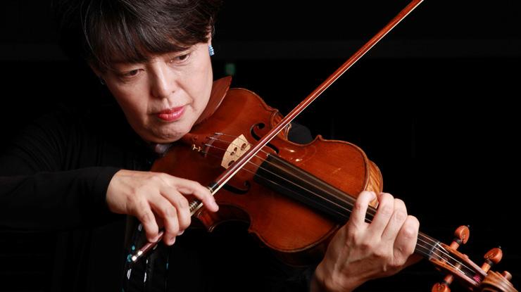 堀米ゆず子 バイオリン演奏