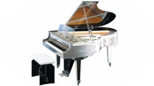 河合楽器のグランドピアノ