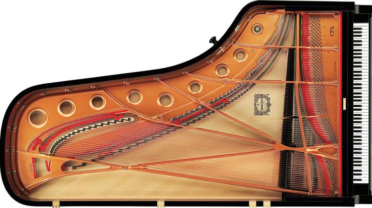 グランドピアノ 響板