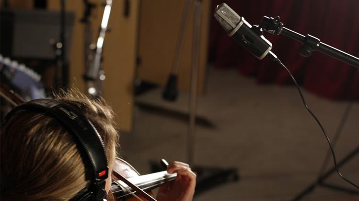 バイオリン レコーディング