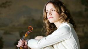美人バイオリニスト